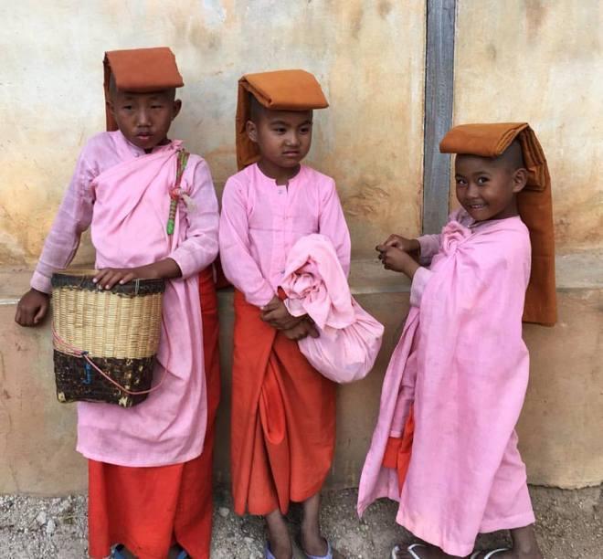 Children playing Myanmar